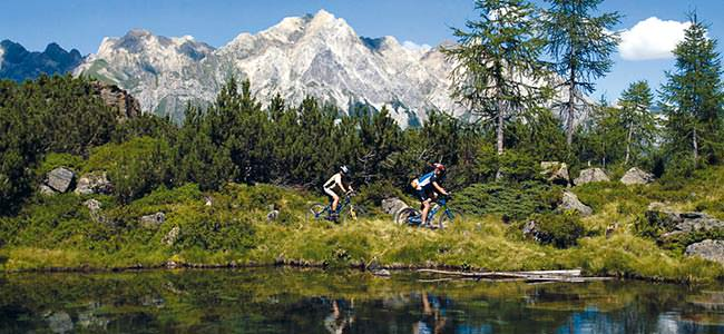 Mountainbike Tour in St. Anton