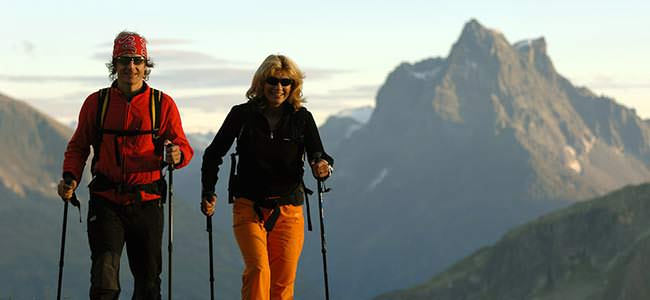 Nordic Walking am Arlberg